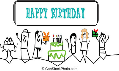 lil people birthday invite