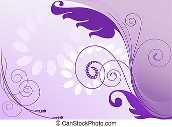 lila, abstrakt, hintergrund
