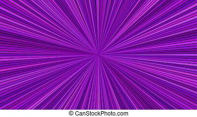 lila, abstrakt, starburst, hintergrund, gestreift, psychedelisch