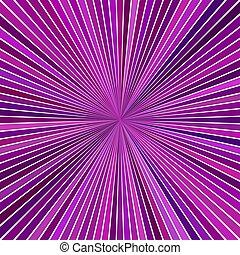 lila, abstrakt, starburst, hypnotisch, design, hintergrund, gestreift