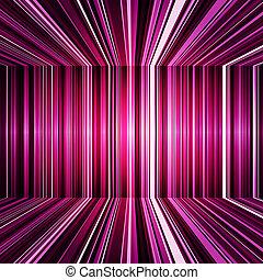 lila, abstrakt, verbogen, streifen, hintergrund