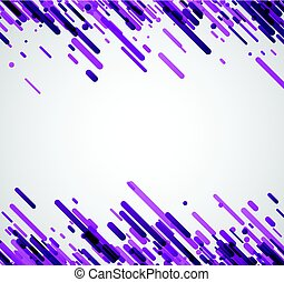 Lilac abstract background on white.