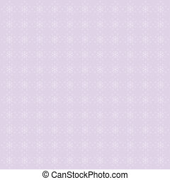 Lilac background with snowflakes