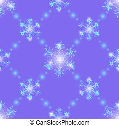 Lilac Christmas seamless background