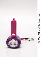 lilac flashlight