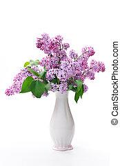 flower in vase - Lilac flower in vase