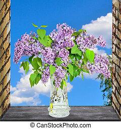 Lilac Flowers Bouquet