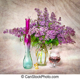 lilac in a vase 2