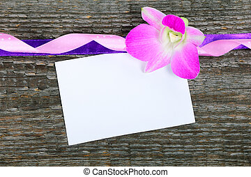 Lilac orchid Cymbidium