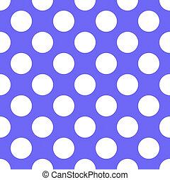 Lilac Polka Dot Seamless Pattern