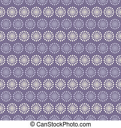 Lilac vector seamless pattern (with square swatch). Endless texture can be used for elegant dream wallpaper, pattern fill, web page background, surface texture. Abstract ornament. Floral shapes.
