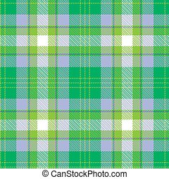 lilla, pattern., seamless, fondo., tartan, verde, bianco, plaid., flanella