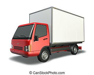 lille, lastbil