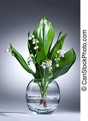 Lily Of The Valley - Lily of the valley in the glass vase