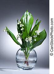 Lily Of The Valley - Lily of the valley in the glass vase