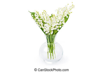 Lily of the valley, spring flowers.