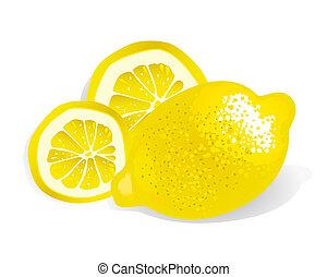 limón, (vector)