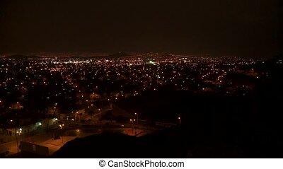 Lima At Night, Peru