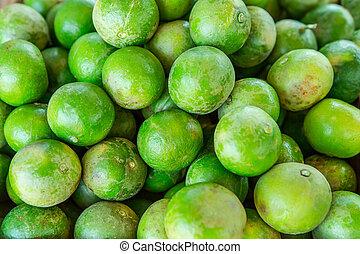 lima, fruta, alimento, comer, cítrico, limão