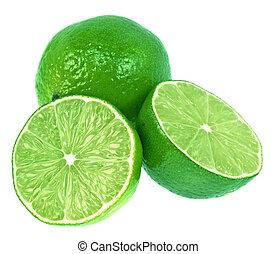 limas, verde