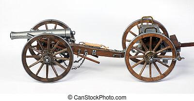 limbert, cañón, dahlgren, cart., 1861
