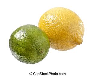 lime and lemon
