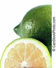 Lime and slice