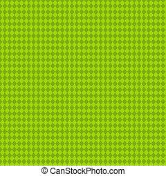 Lime Argyle Paper