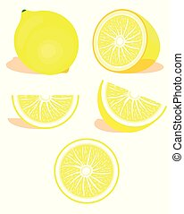 Lime citrus set
