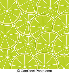 Lime fruit abstract background vector illustration