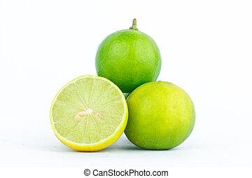 Lime fruits vegetables