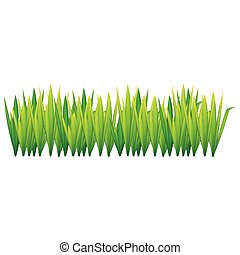 lime green grass with leaves icon, vector illustraction ...
