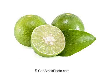 lime - green lemon