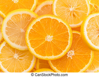 lime, lemon and orange slices