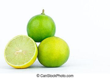 Lime (lemon) are high in vitamin C