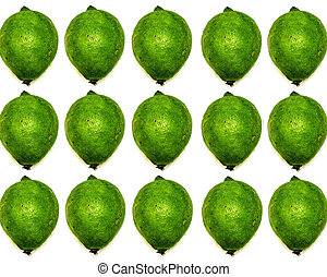lime multiple in close up
