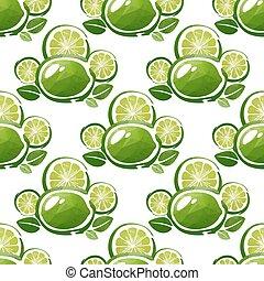 lime seamless pattern