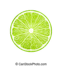 Lime slice fruit
