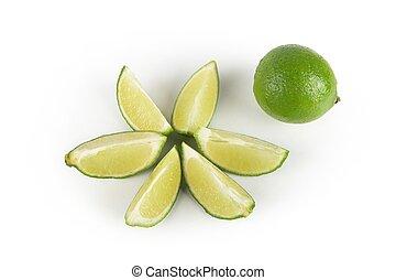 lime, szelet