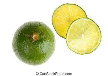 lime with slice