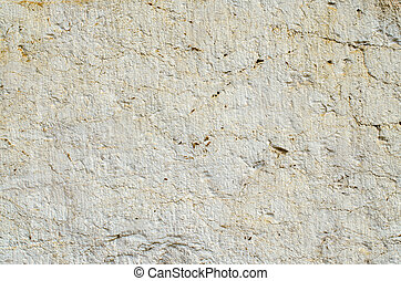 Limestone - Closeup texture of limestone texture background.