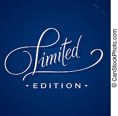 LIMITED hand lettering (vector) - LIMITED hand lettering -...