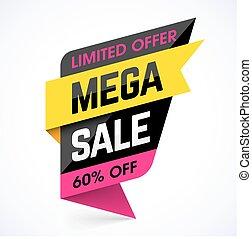 Limited Offer Mega Sale banner