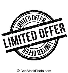 Limited offer stamp