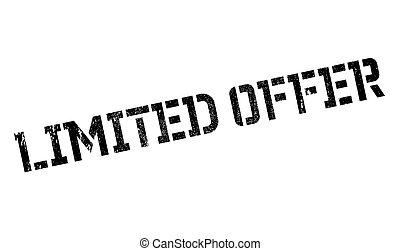 Limited offer stamp