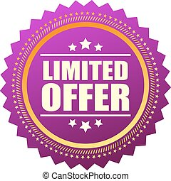 Limited offer star icon