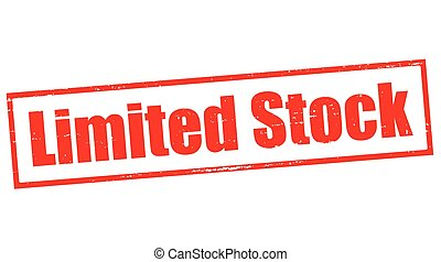 supplies limited stamp with text supplies limited inside vector
