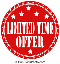 Limited Time Offer-label