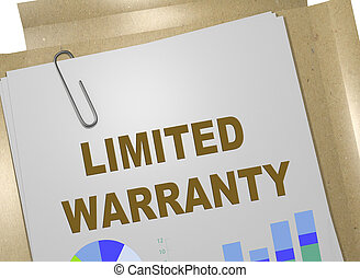 LIMITED WARRANTY concept