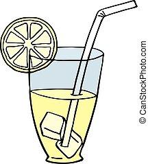 limonada, ilustración